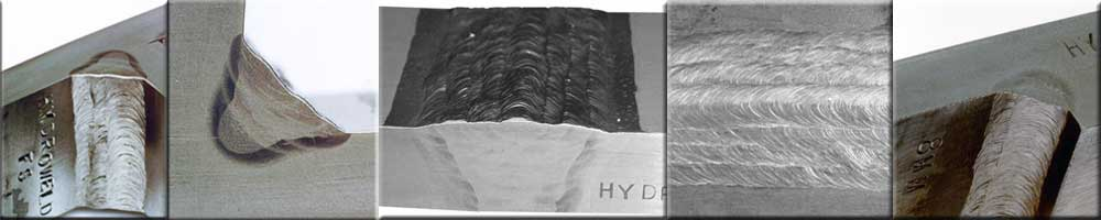 Hydroweld Wet Weld Samples